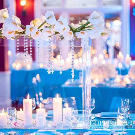 Blue candles 1