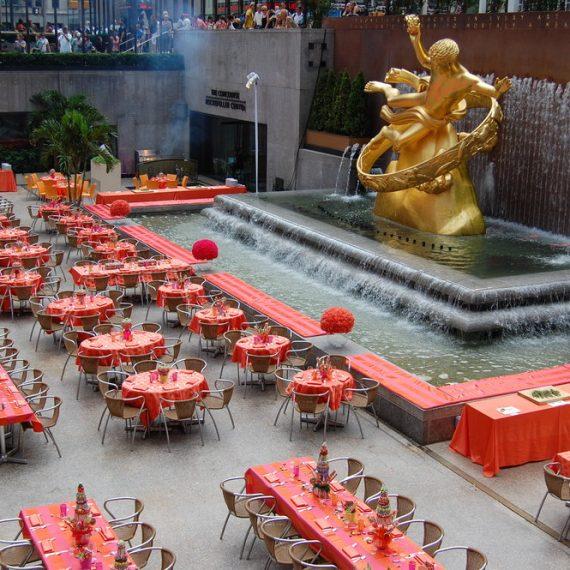 Rockefeller Plaza for Merrill Lynch