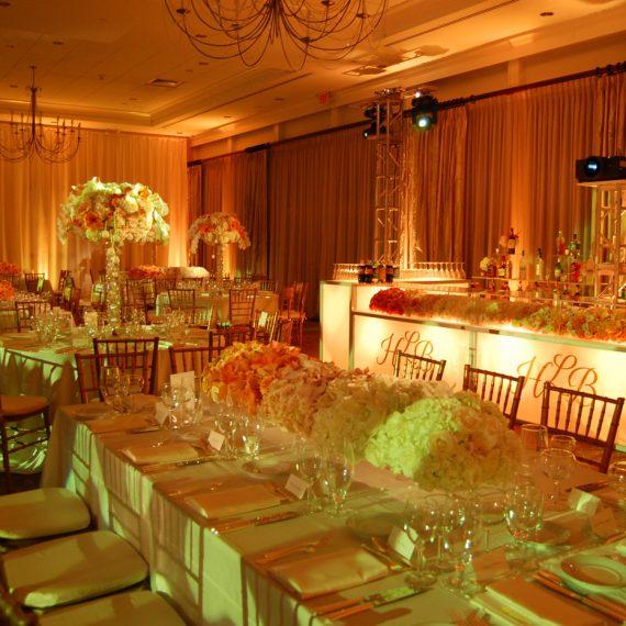 Adult Tables with Custom Lightup Bar